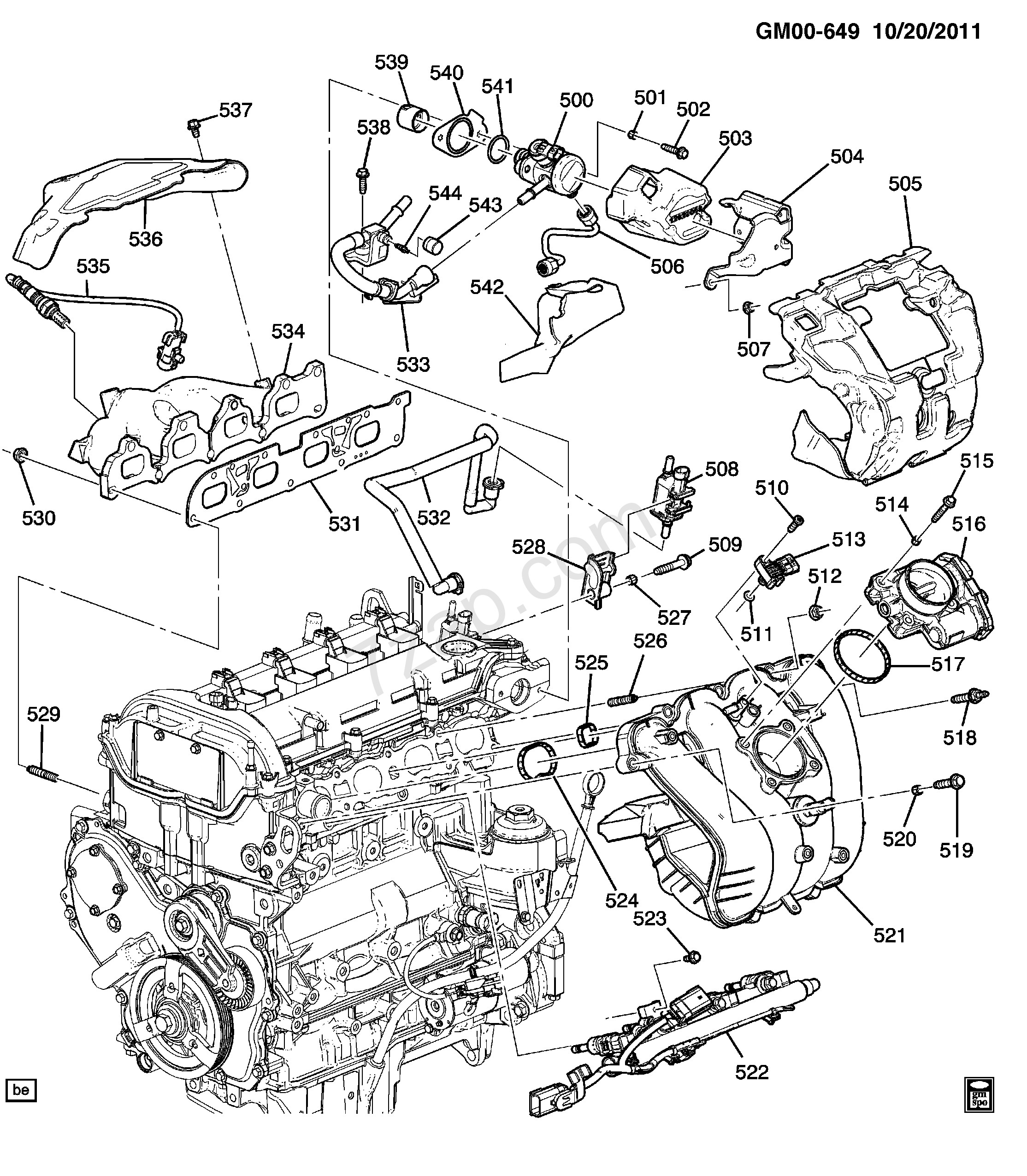 Chevy Motor Wiring Diagram