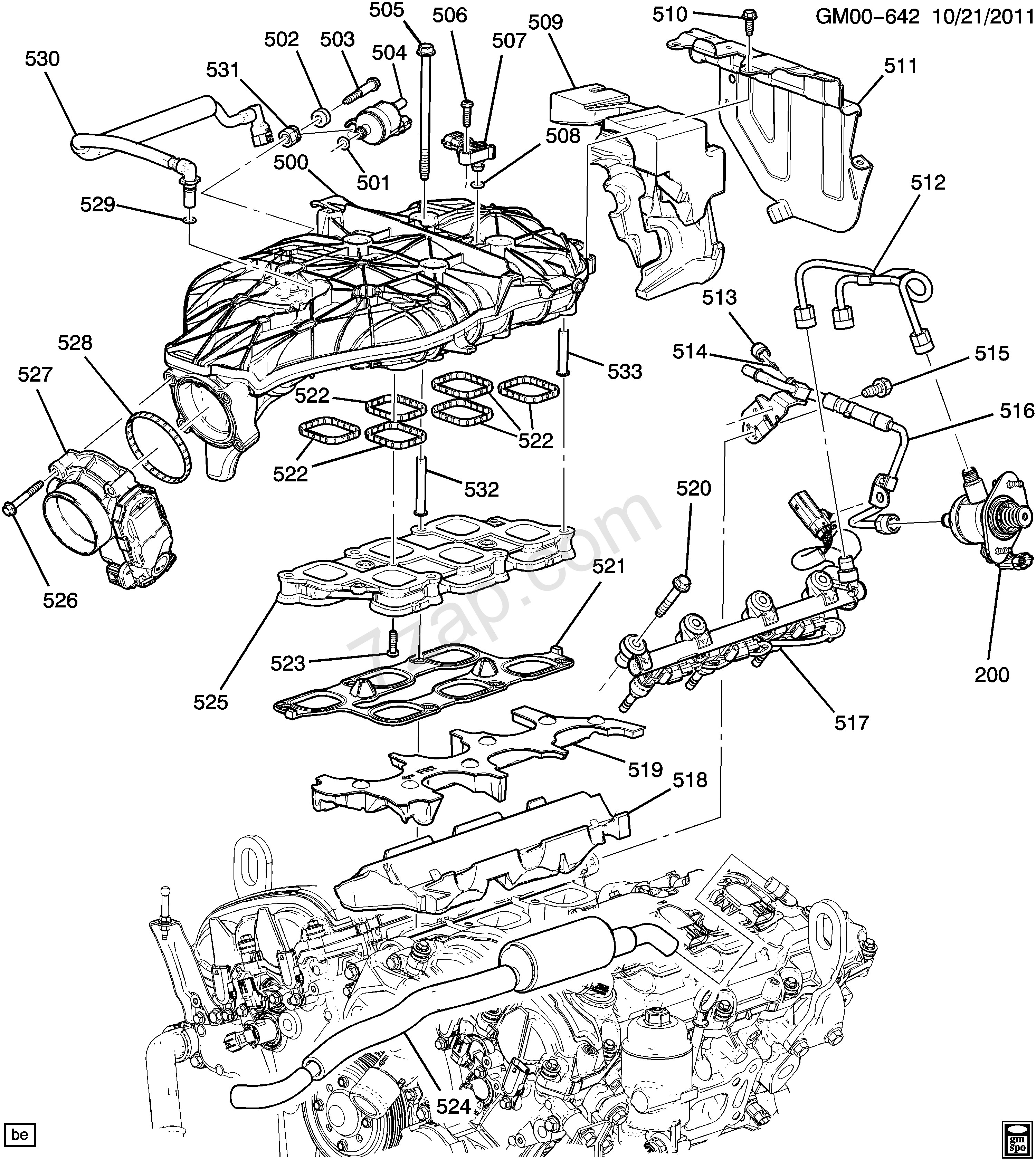 General Motors Parts Diagrams