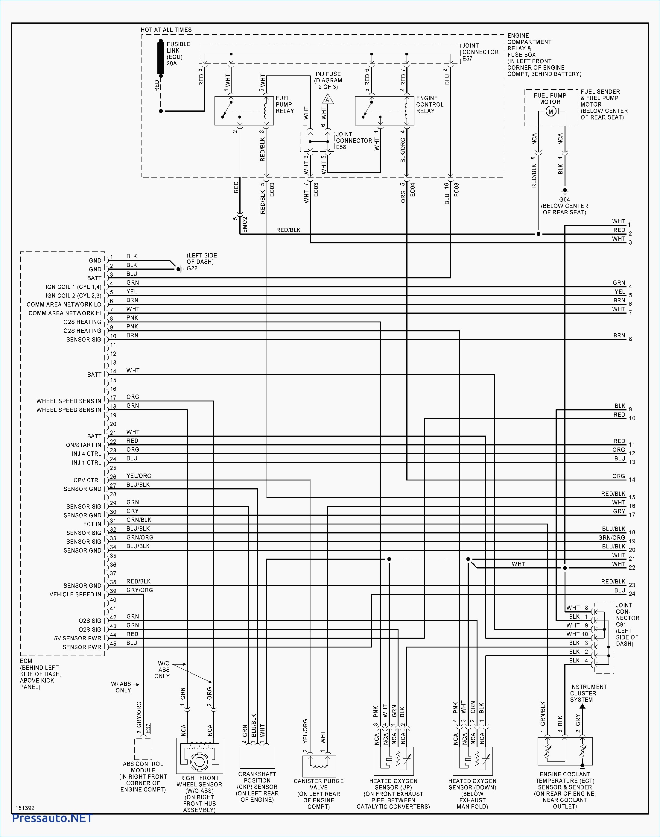 Santa Fe Engine Diagram