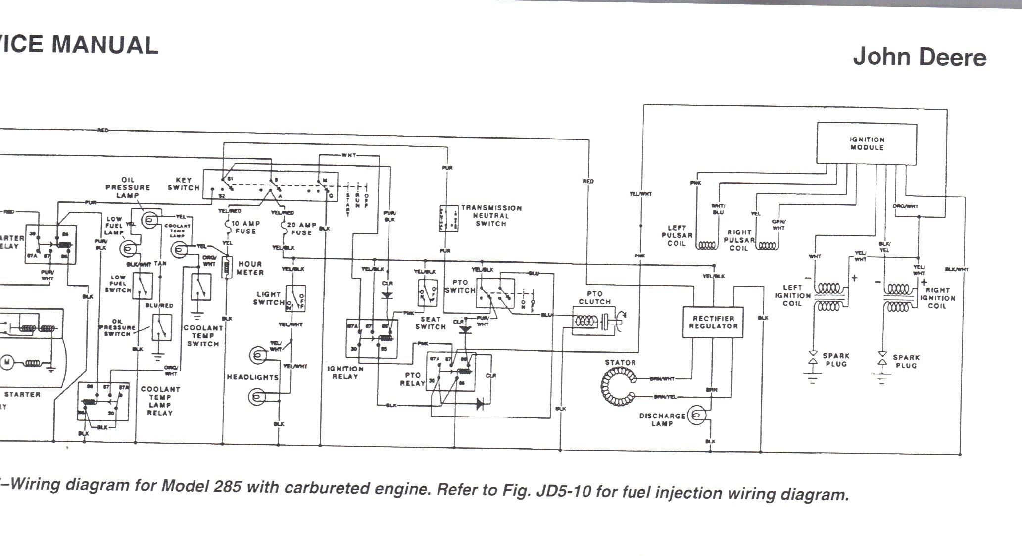 John Deere La105 Engine Diagram