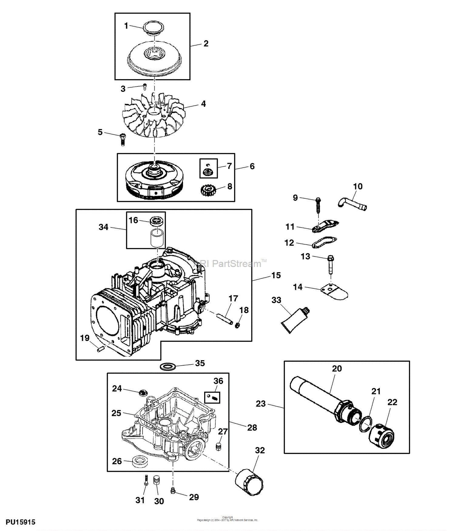 John deere la105 engine diagram john deere parts diagrams john deere la105 tractor pc9740 of john