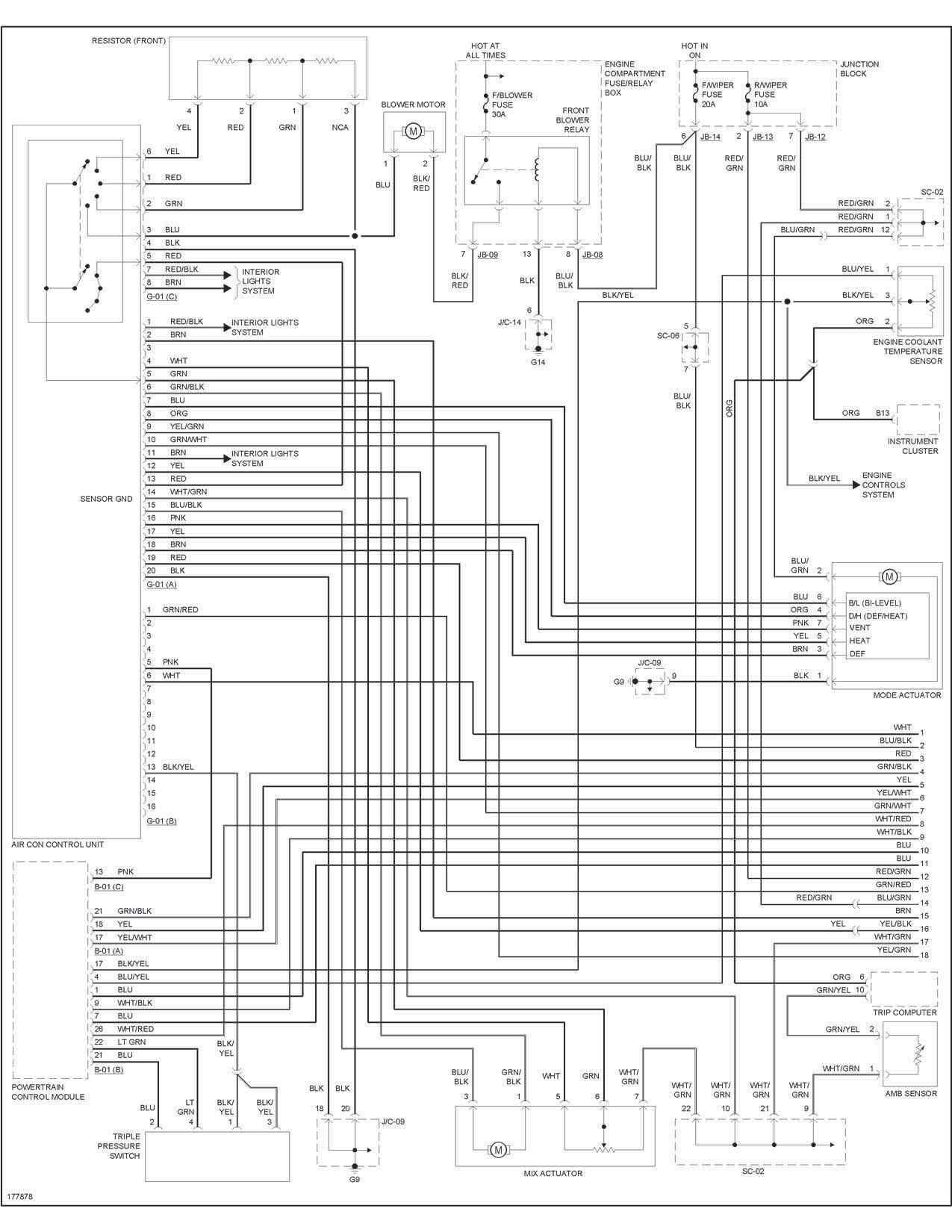 Kia Sephia Wiring Diagram