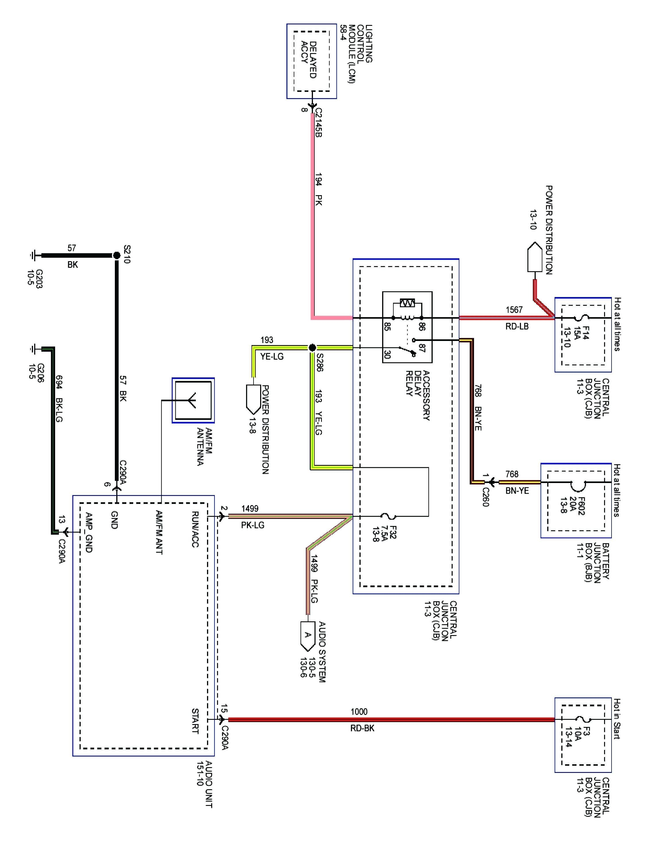 Lincoln Town Car Blower Motor Relay Location