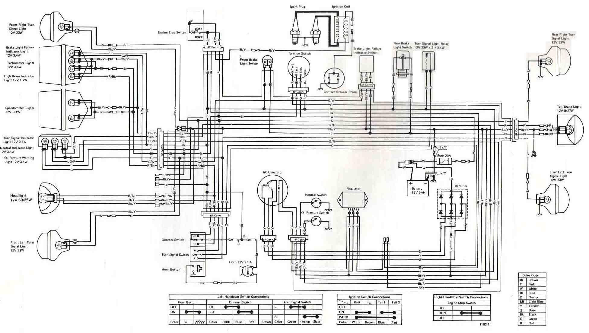 Kawasaki Zxi 750 Wiring Diagram
