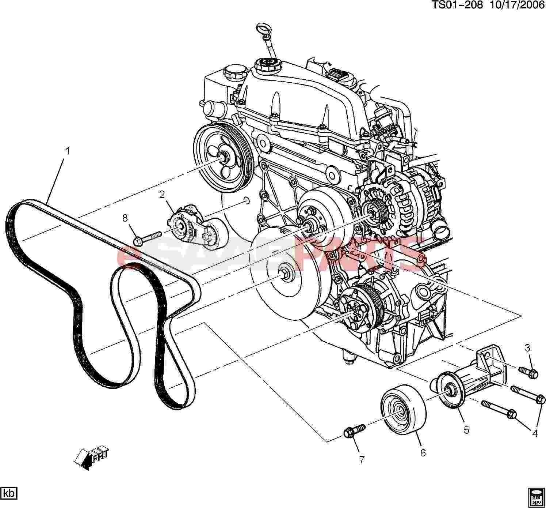 Toyota Avensis Engine Diagram