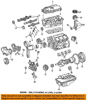 1997 Toyota Camry Parts Diagram • Wiring Diagram For Free