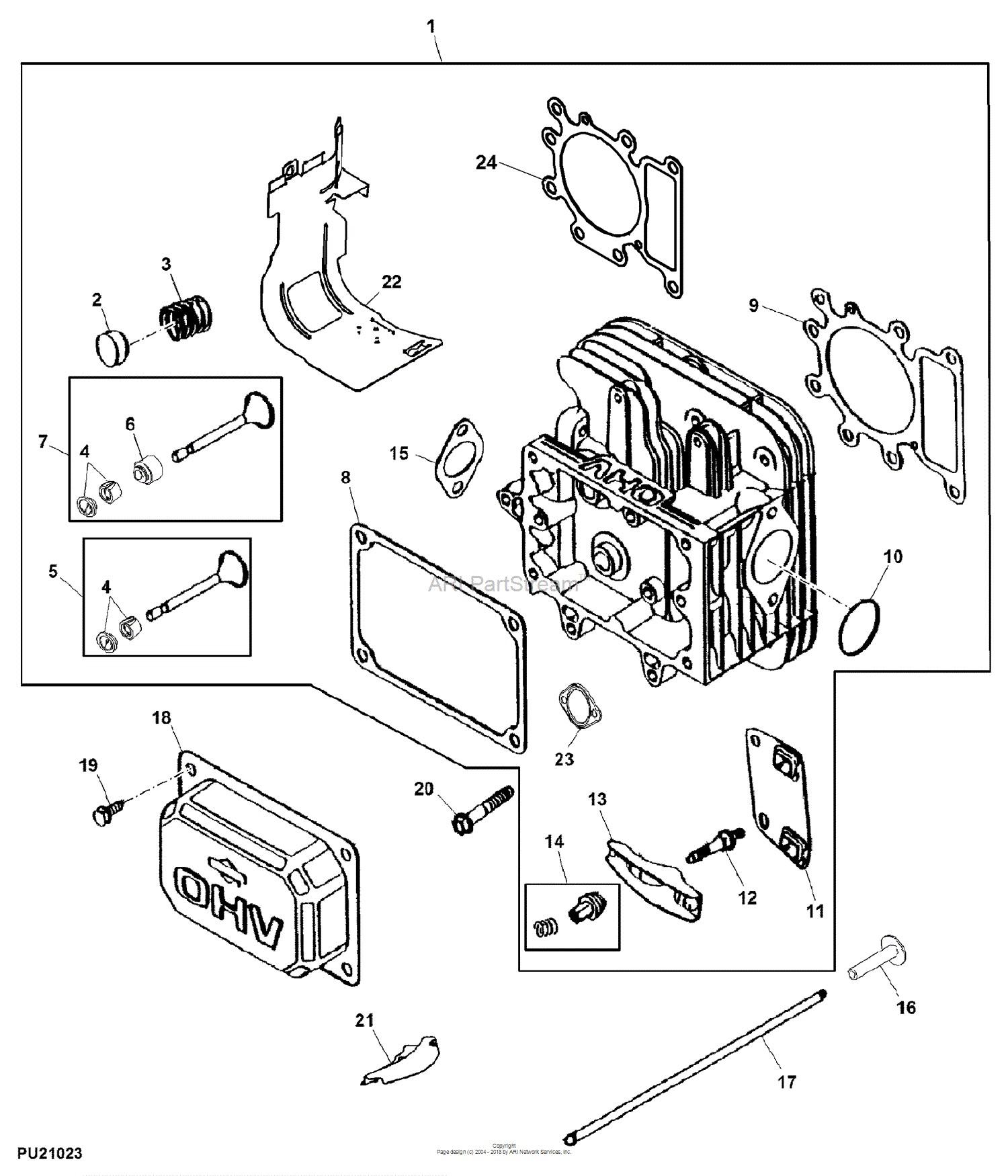Tractor engine diagram john deere parts diagrams john deere d105