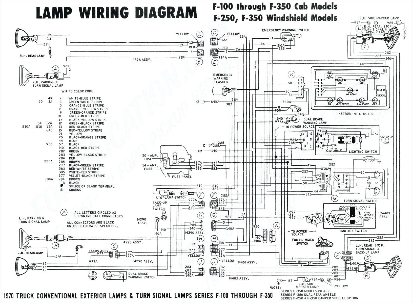 Turn Signal Schematic Diagram