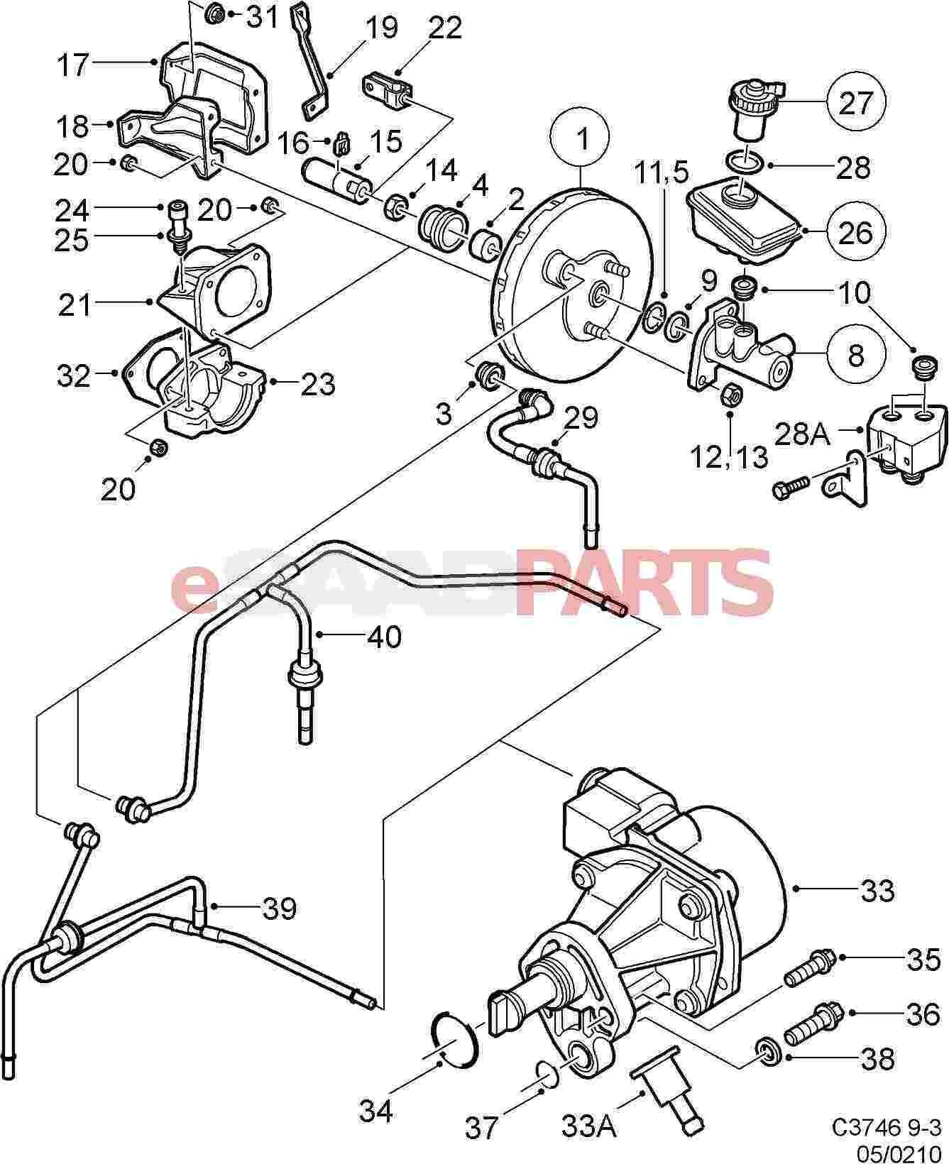2001 saab 9 3 vacuum line diagram wiring diagram news saab wiring diagram on