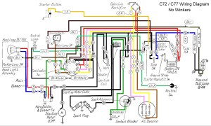 1975 Bobber Harley Wiring Harness Diagram | Wiring Diagram
