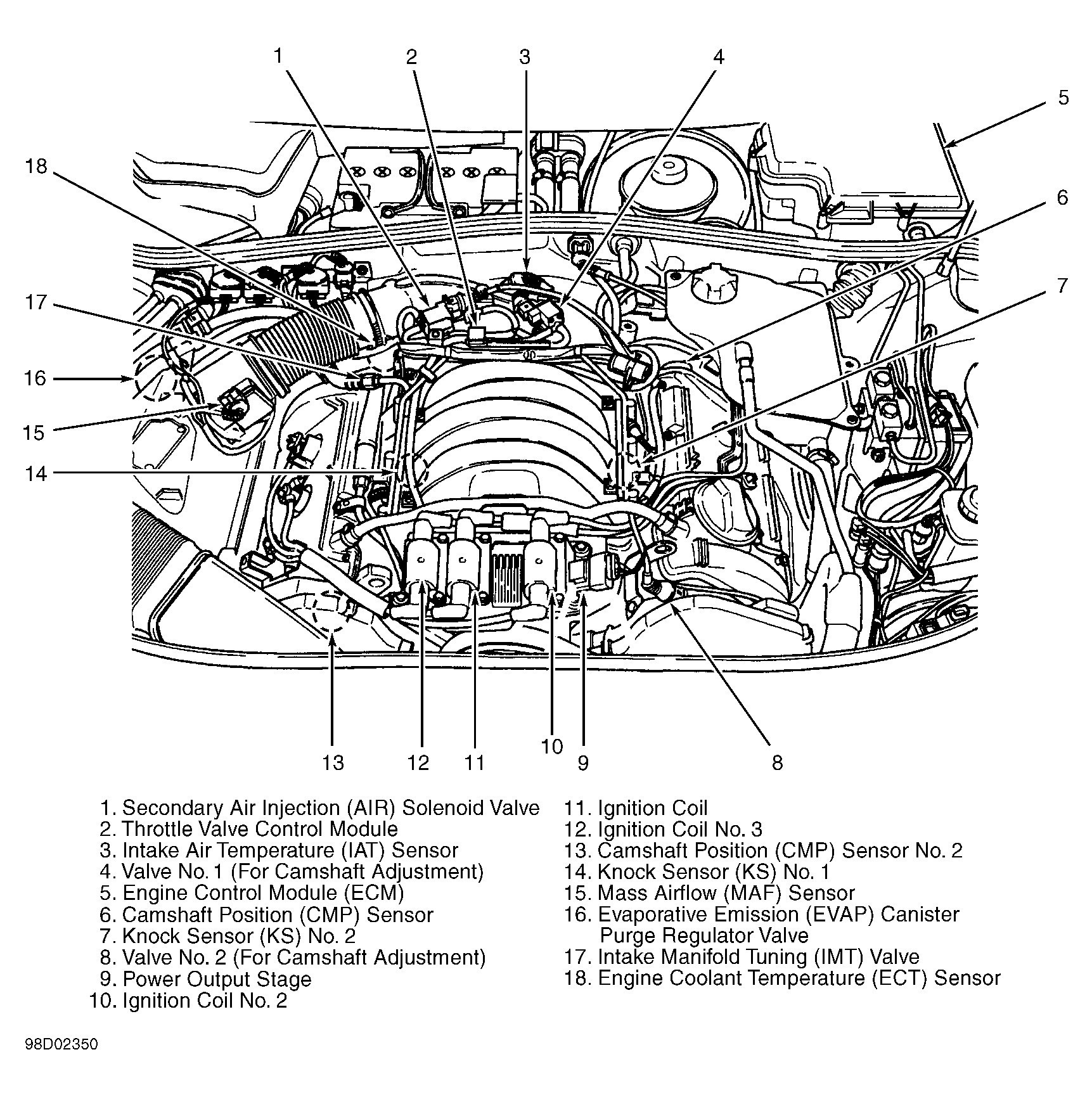 2 0l Engine Diagram