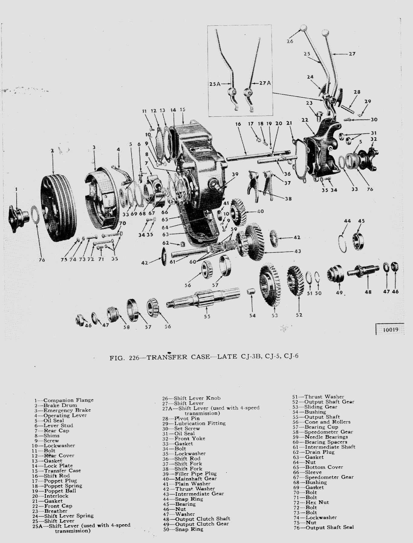 Dana 35 Parts Diagram