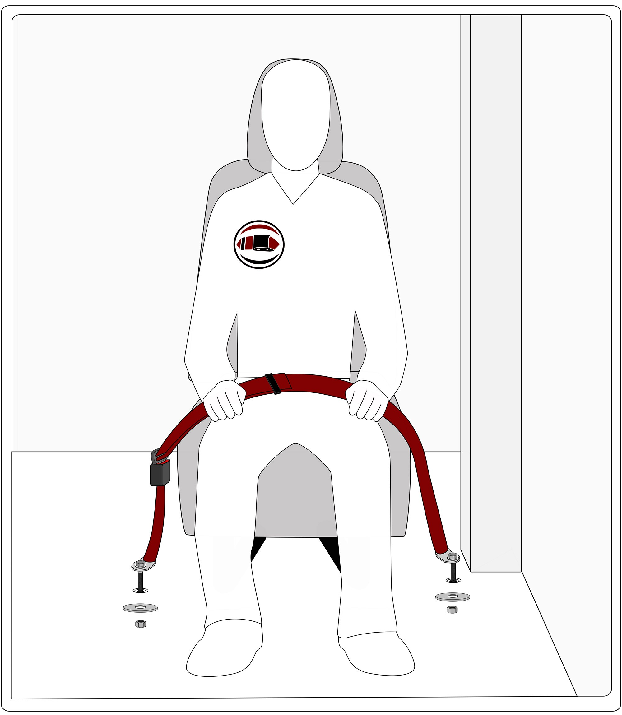 Seat Belt Diagram