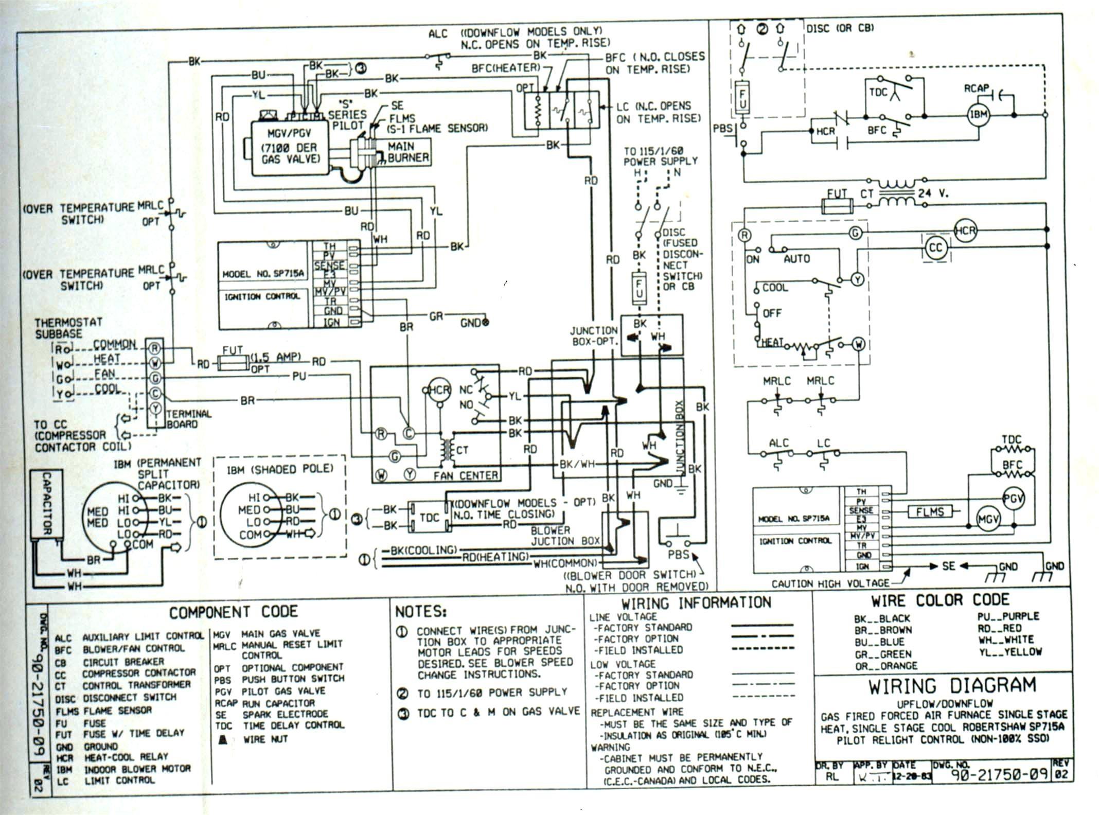 Trane Xl Heat Pump Wiring Diagram