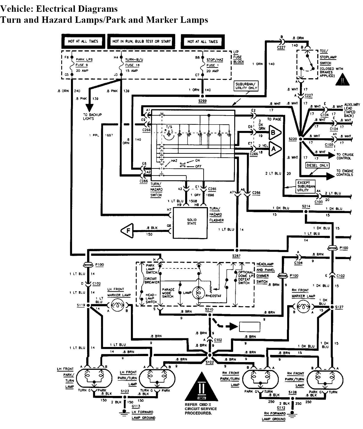 1994 Chevy 1500 Headlight Wiring Diagram Wiring Diagram Frankmotors Es