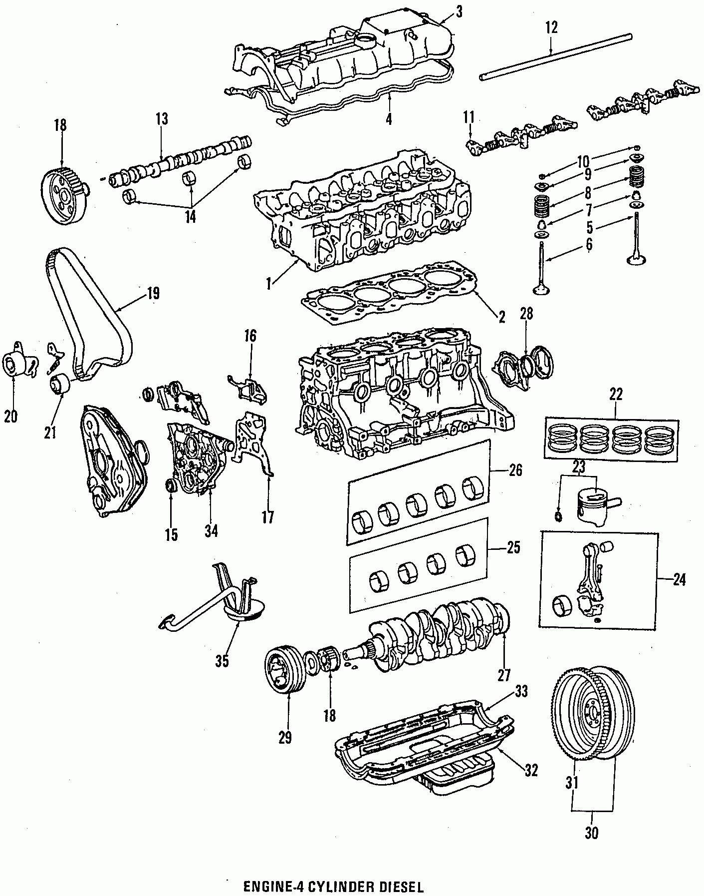 Toyota Sequoia Parts Diagram