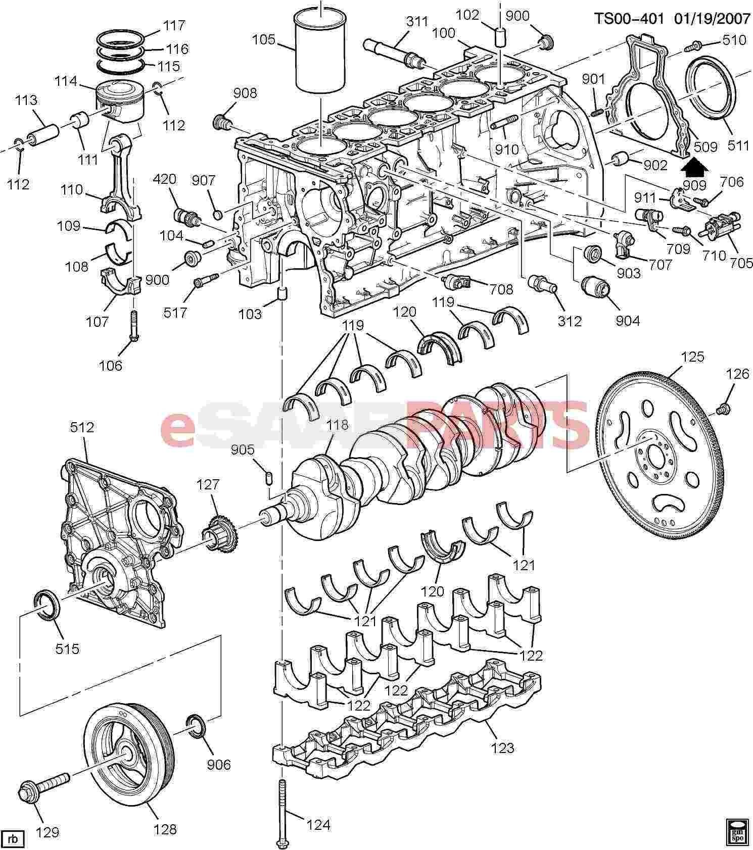 7 3 Engine Parts Diagram