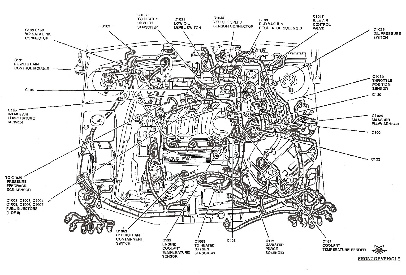 Engine Coolant Diagram