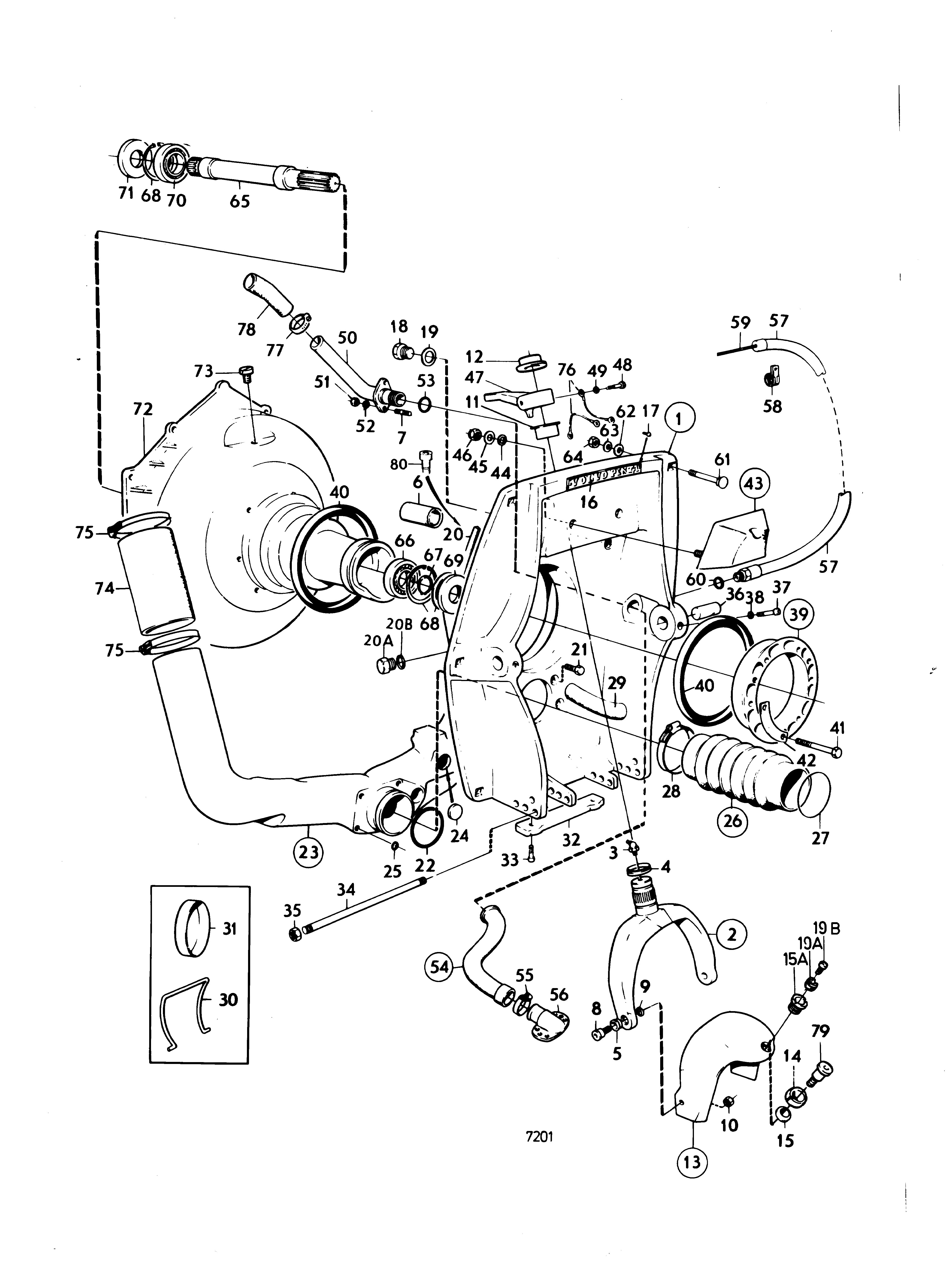 32 Volvo D12 Engine Parts Diagram