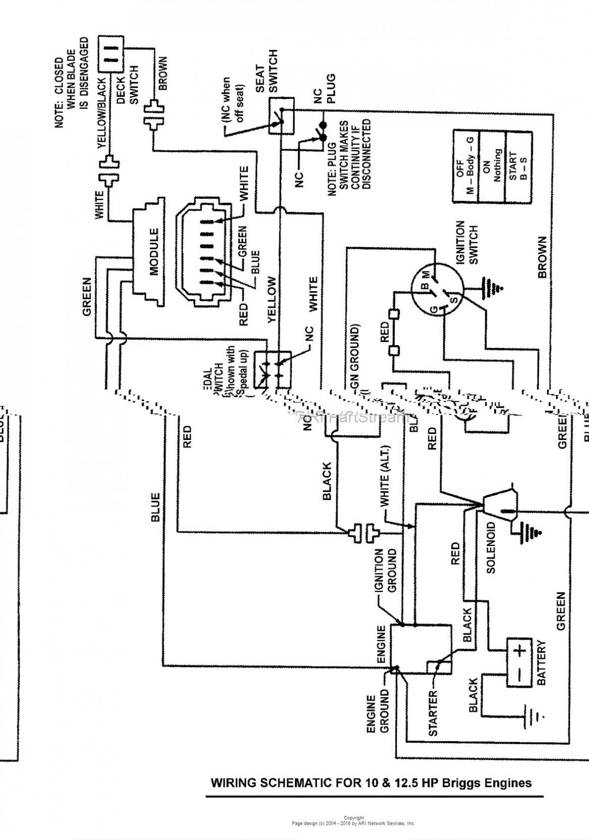 Wiring Diagram 17 Hp Briggs Stratton Wiring Diagram Hecho