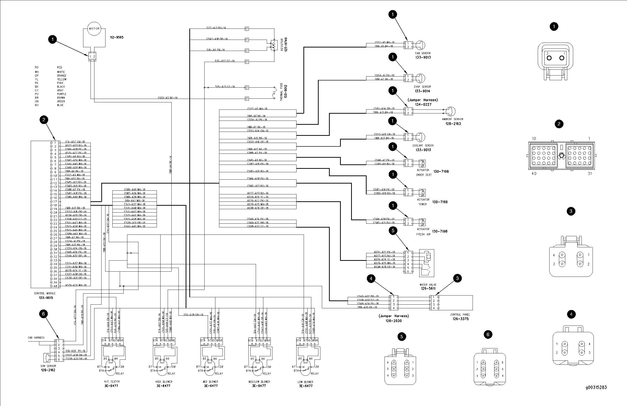 Caterpillar Engine Wiring Diagrams