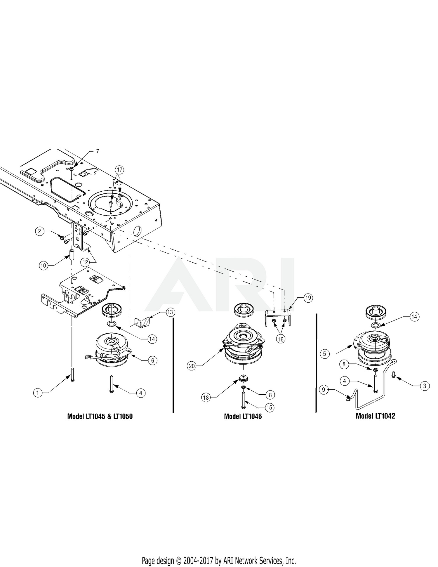 Circuit Electric For Guide Cub Cadet Lt Wiring