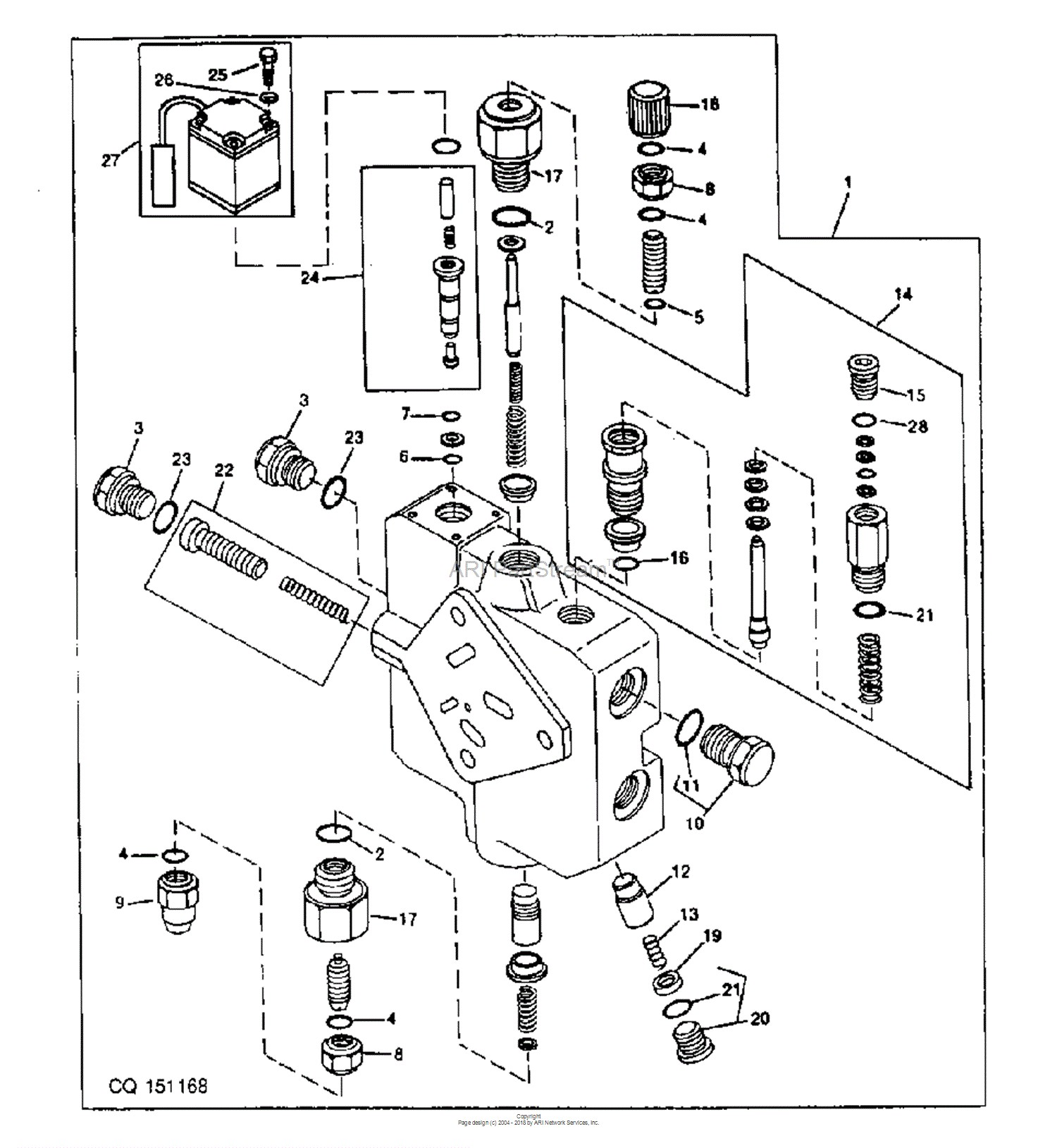 Engine Valve Train Diagram
