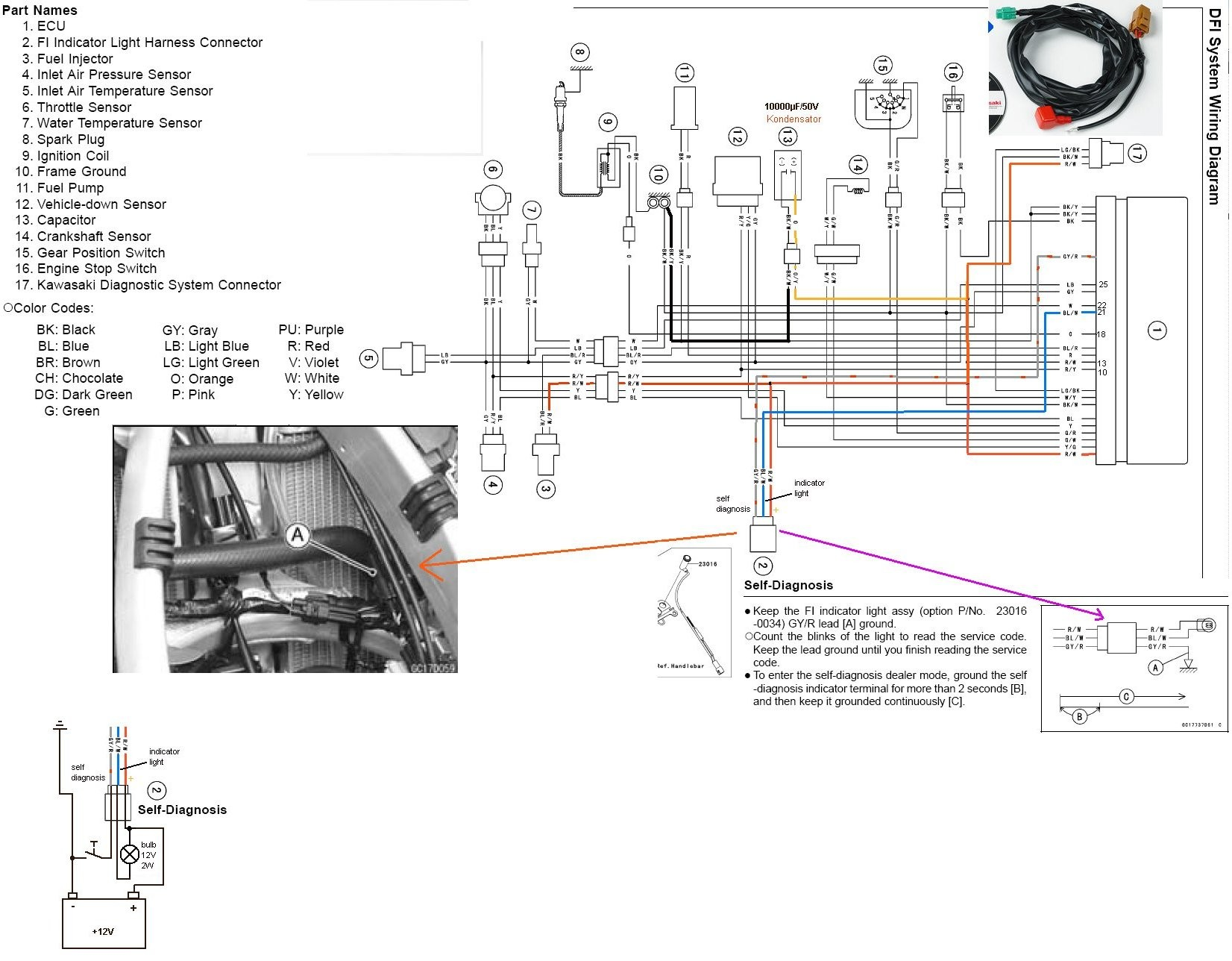 Diagram Zongshen 250 Dirt Bike Wiring Diagram Full