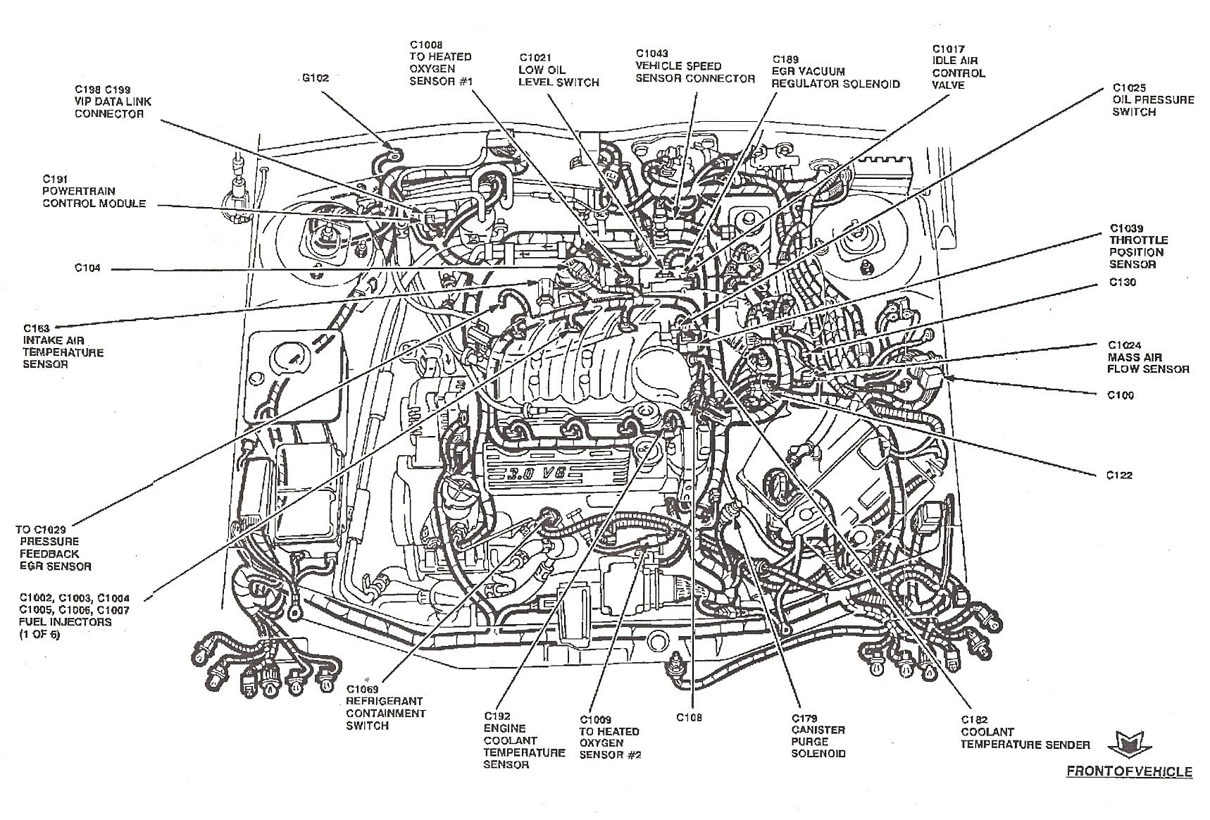 Ford Freestyle Engine Diagram