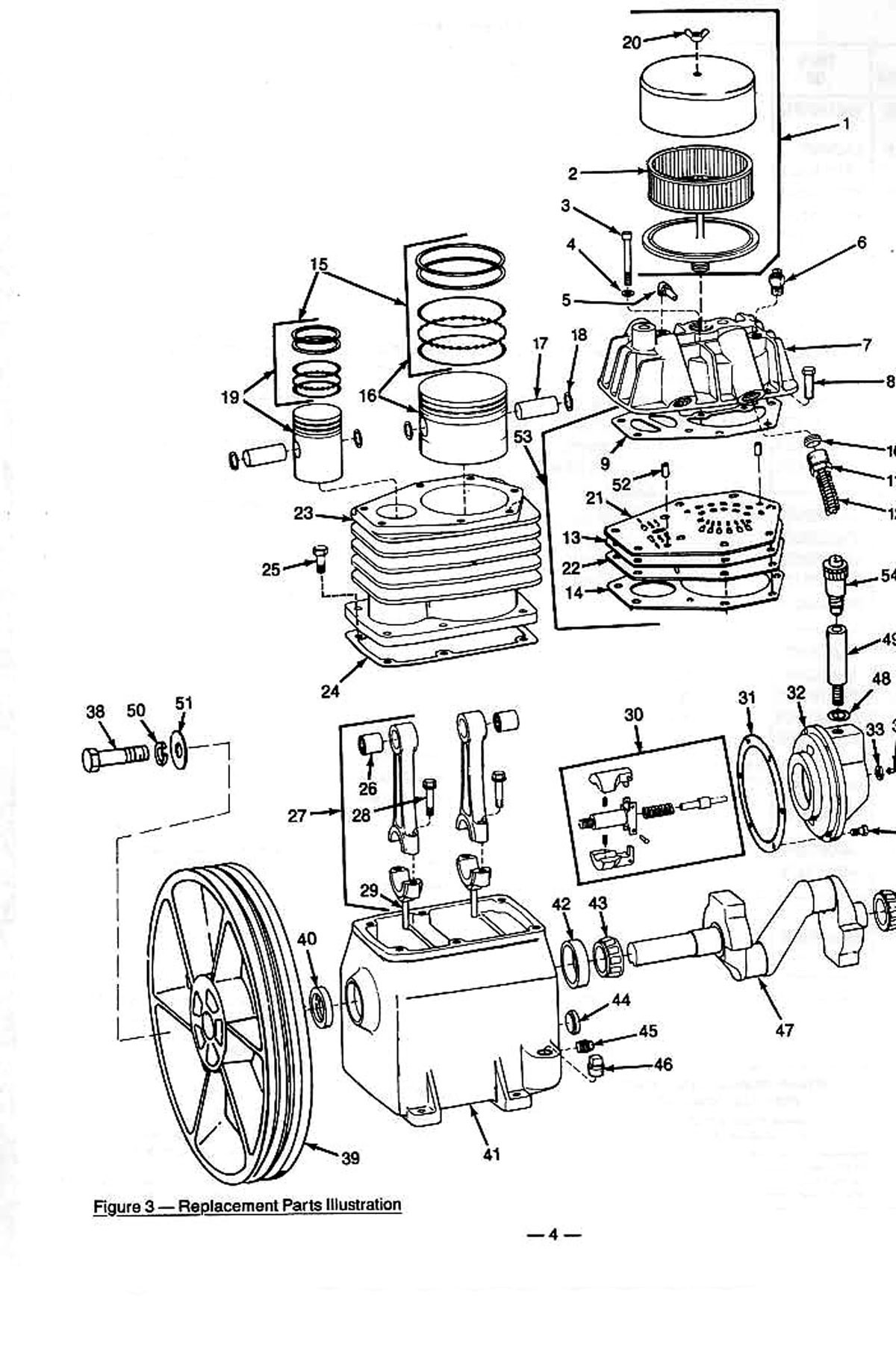 Air Compressor Parts Diagram