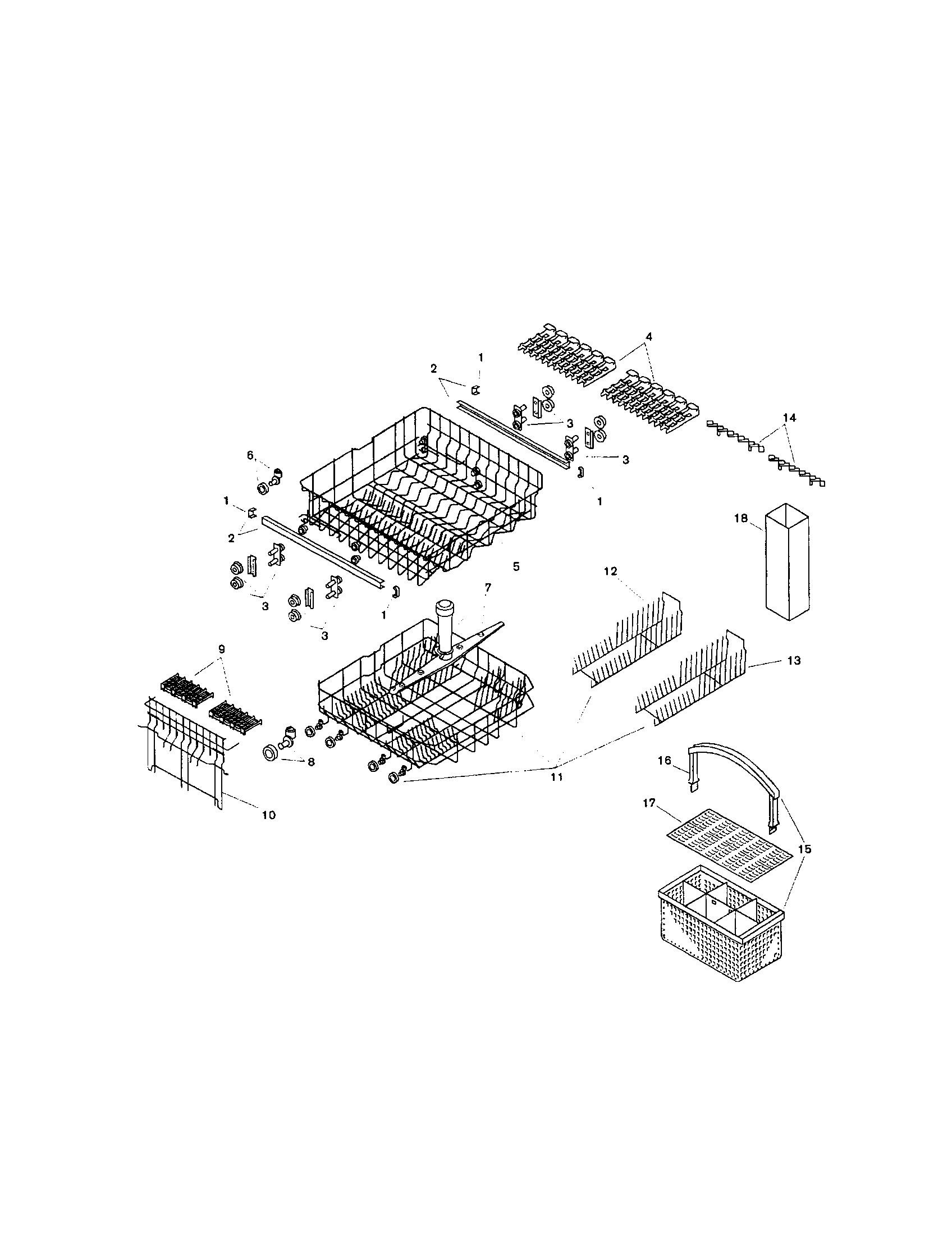 Asko Dishwasher Parts Diagram