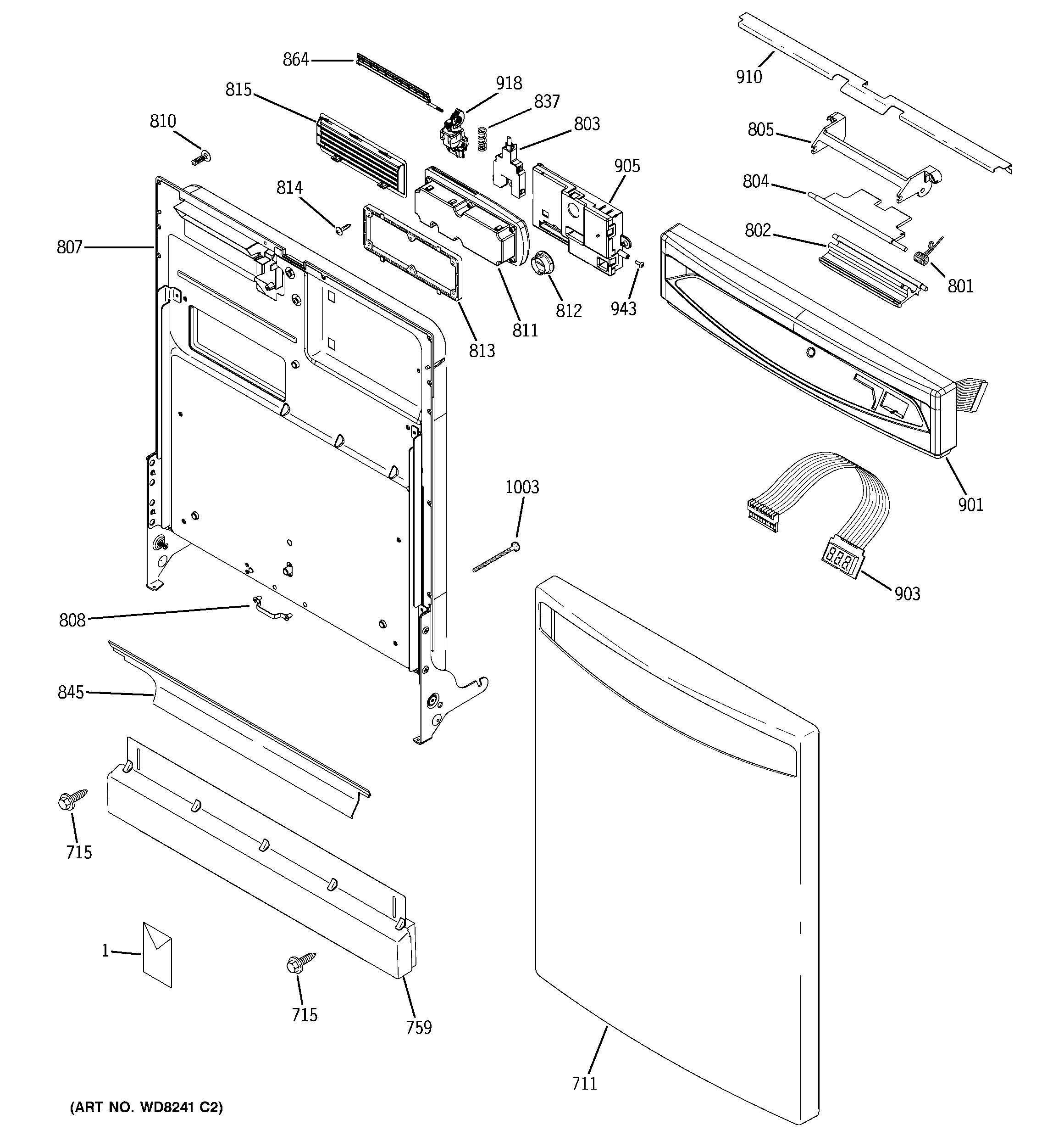 Bosch Dishwasher Parts Diagram
