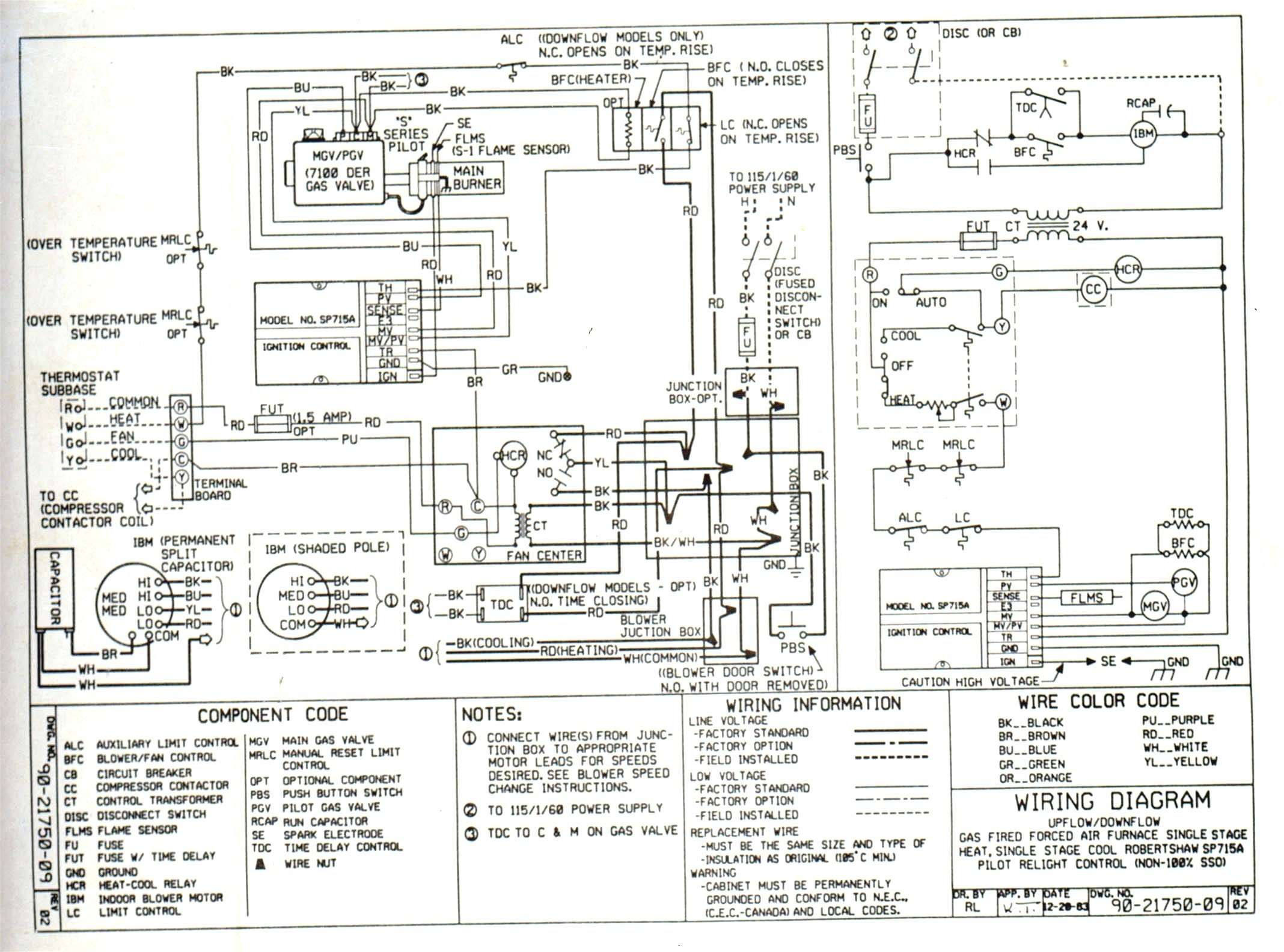 Wiring Diagram For A Honeywell Thermostat