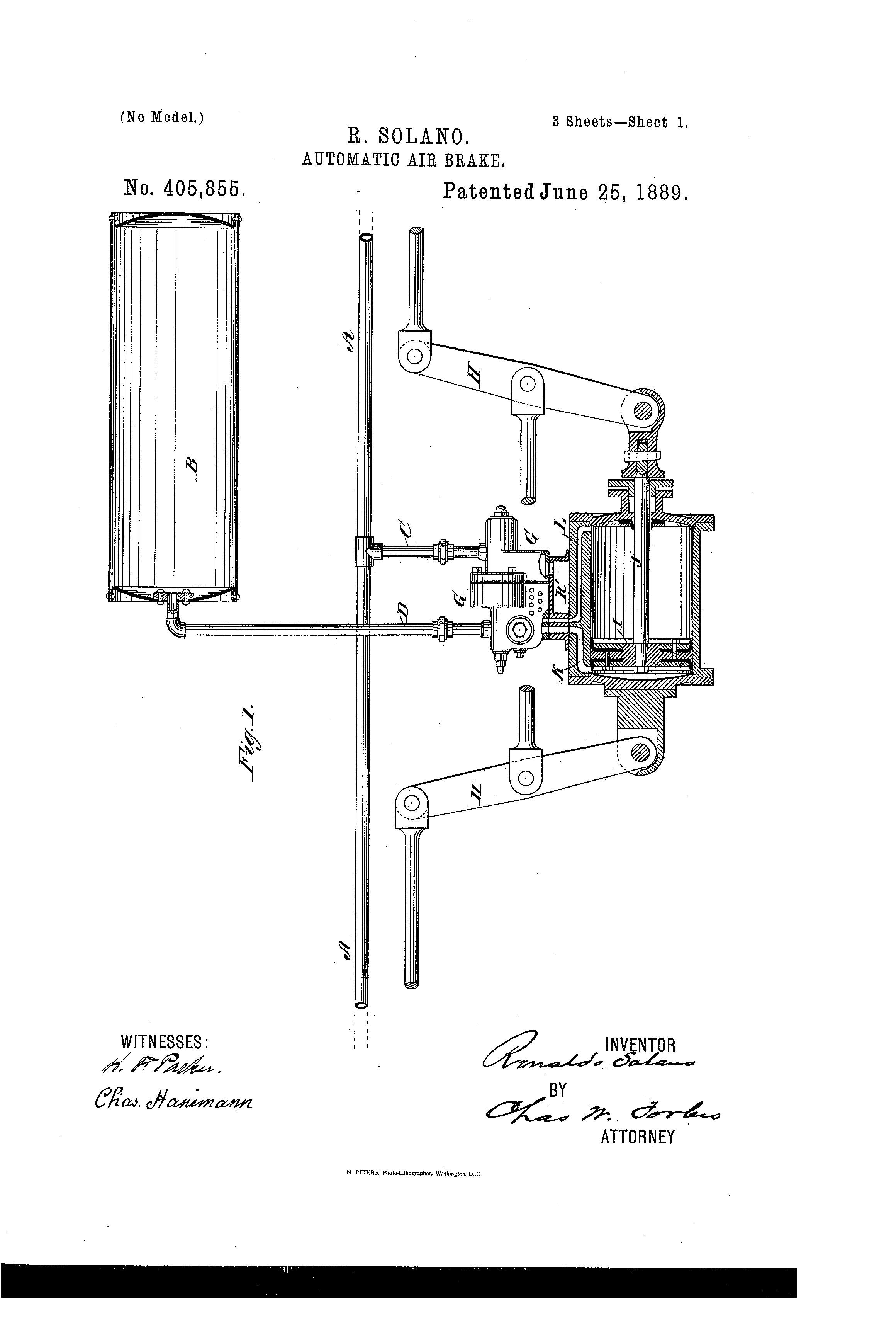 Air Brake Diagram