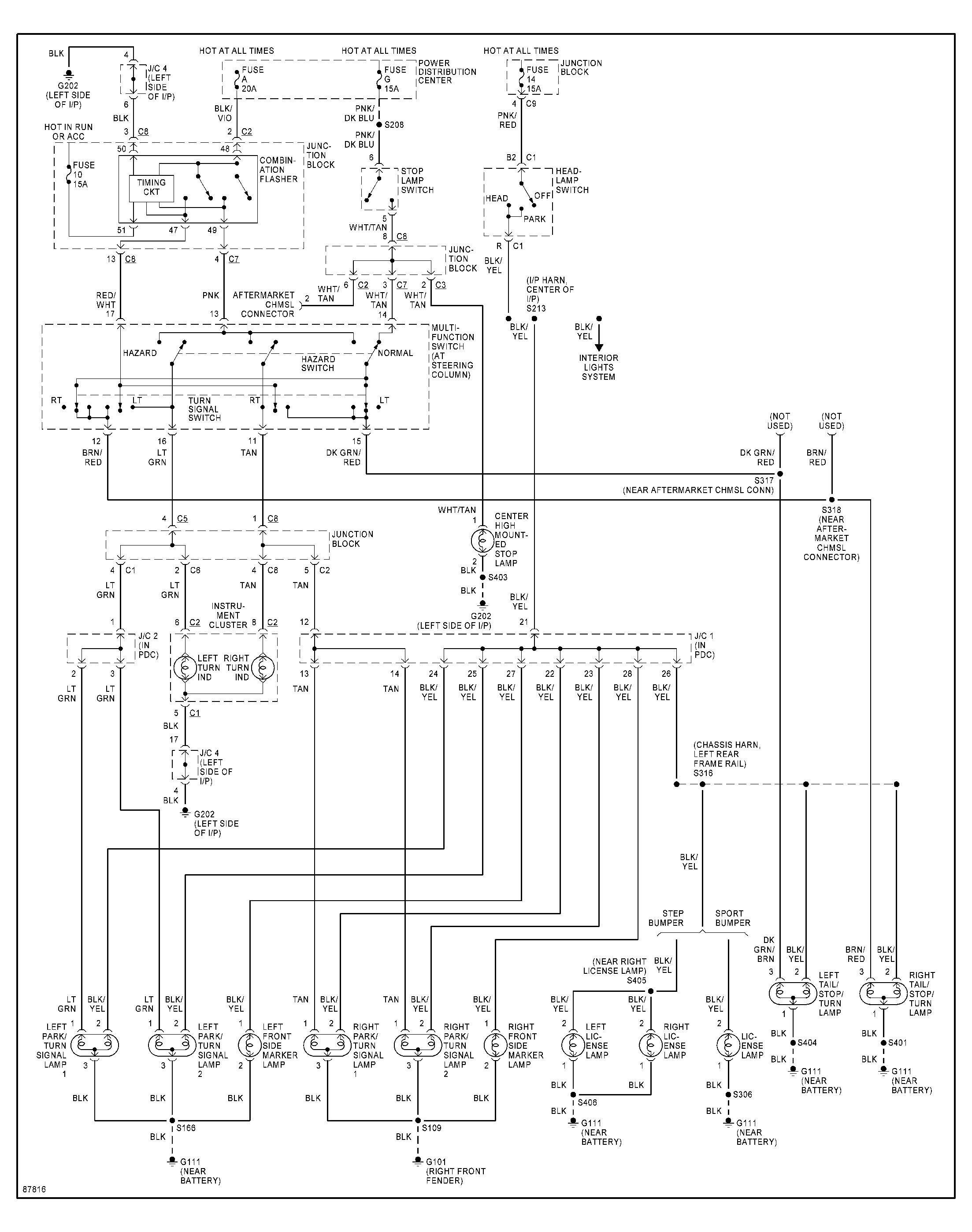Dodge Dakota Engine Diagram