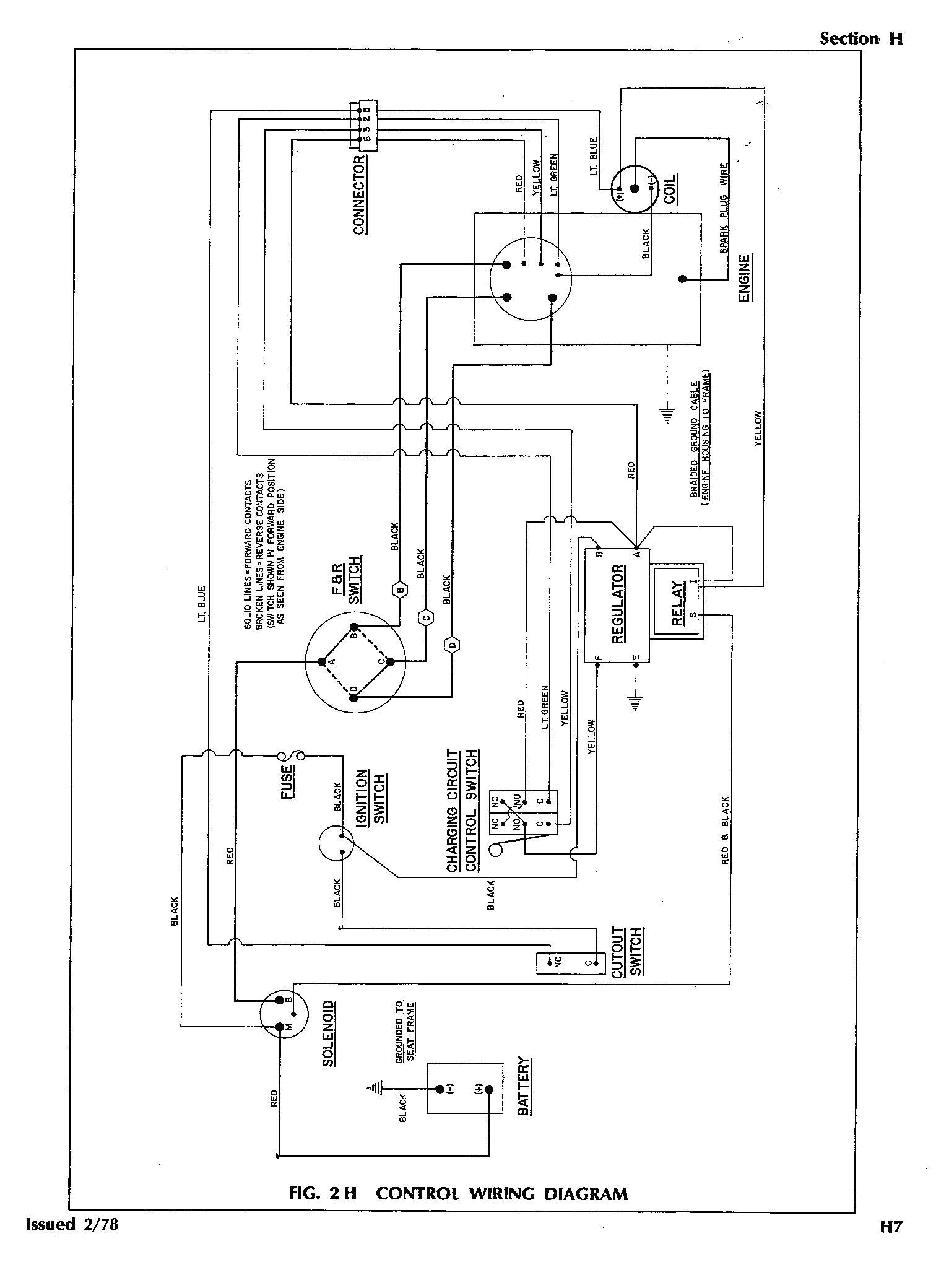 Ezgo Gas Engine Wiring Diagram