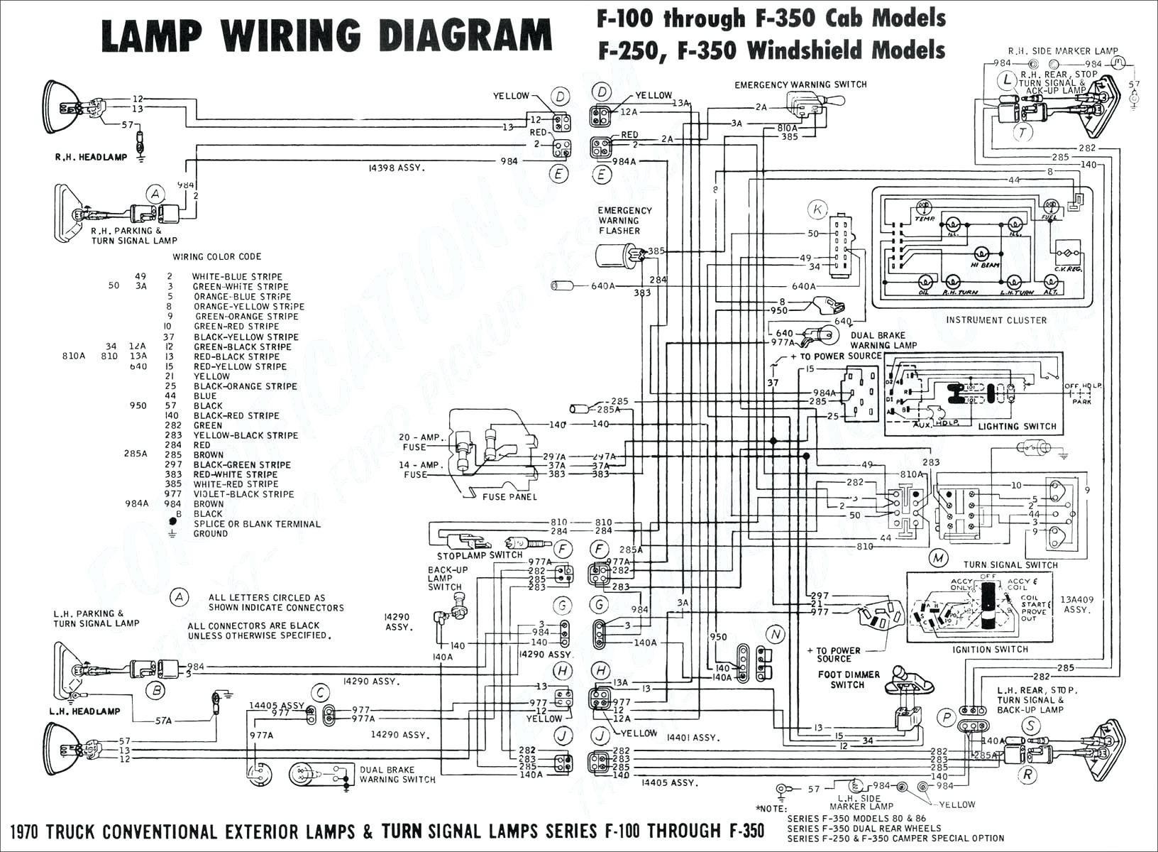 Chevy Trailblazer Single Light Wire Diagram