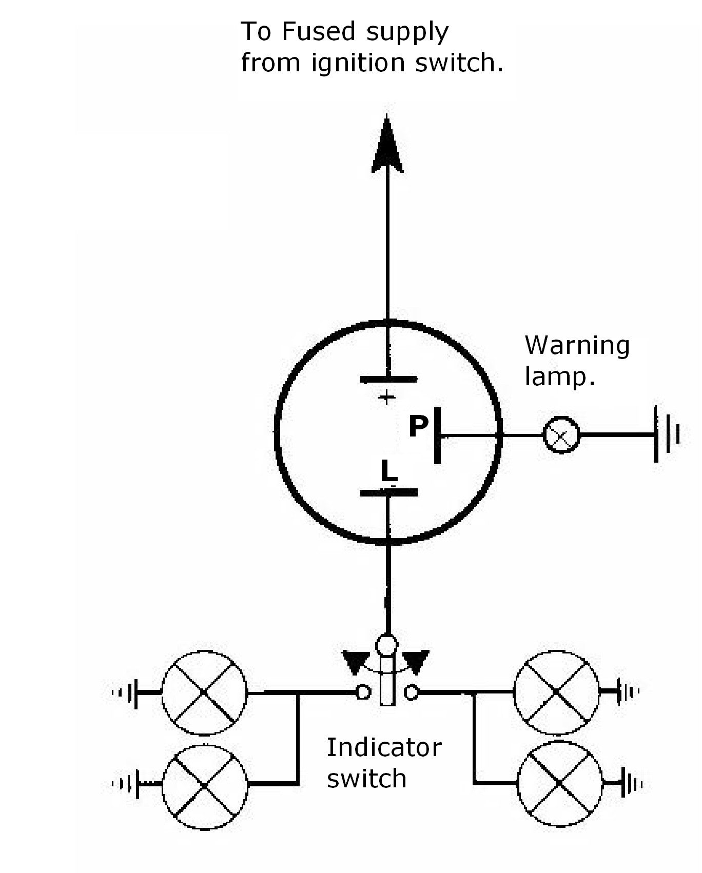 3 Post Flasher Diagram
