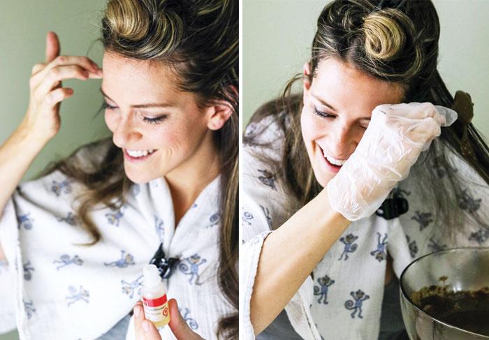 Henna Hair Dye For Covering Gray Hair Detoxinista
