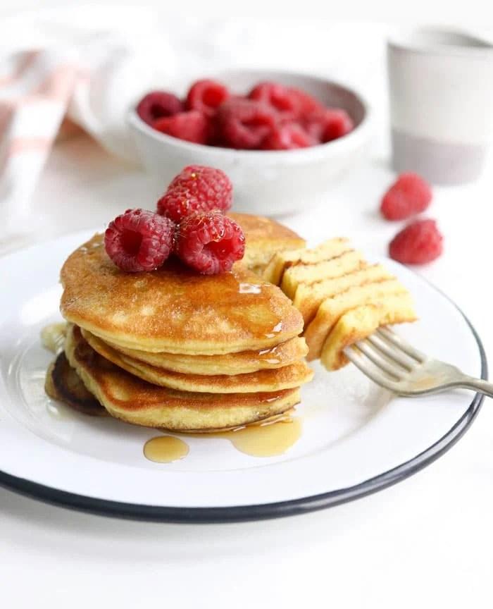 Keto Coconut Flour Pancakes