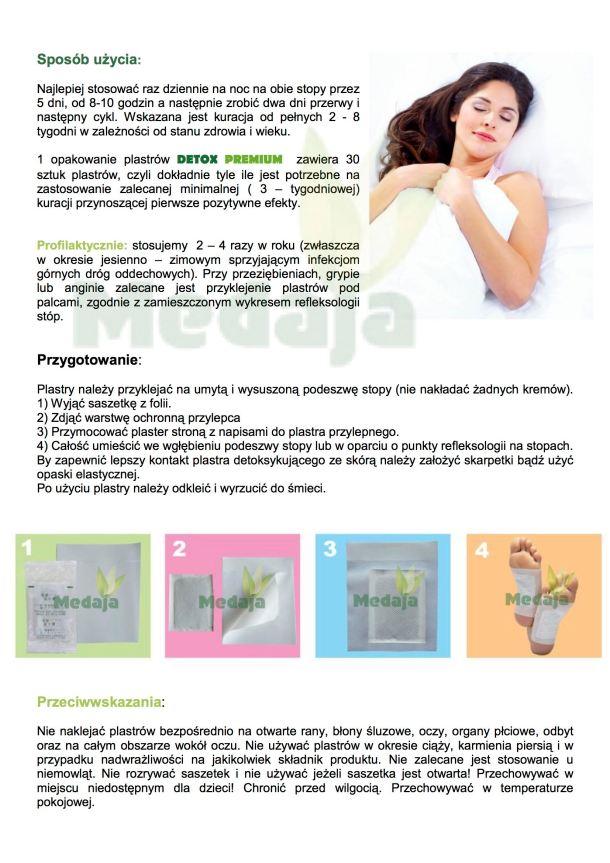 plastry oczyszczające instrukcja