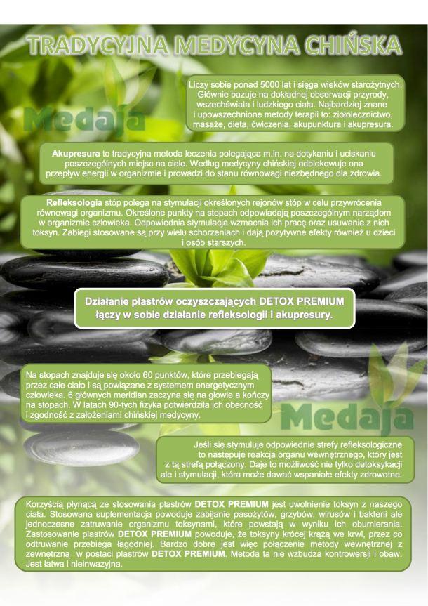 plastry detoksykacyjne