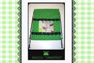 Mochila green&polk