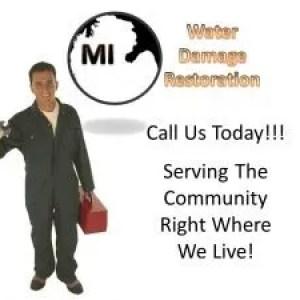 Detroit MI Water Damage Restoration Service and Mold Remediation Logo