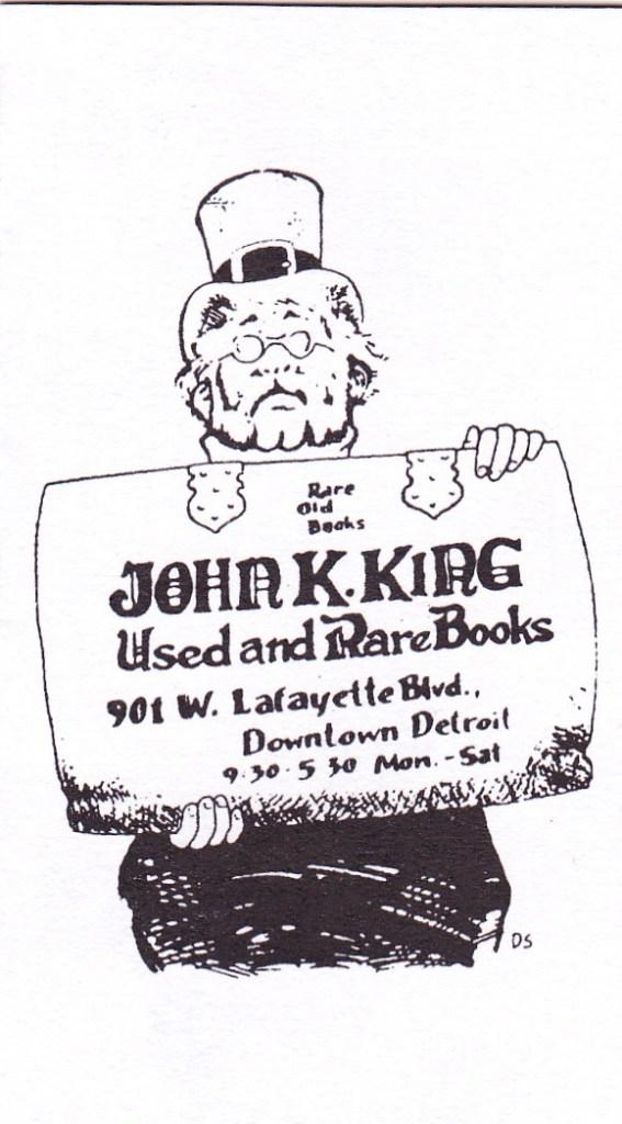 Exclusive Interview: JOHN KING, owner of John K. King Used & Rare ...
