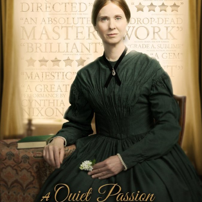 Win FREE Emily Dickinson movie 'A Quiet Passion'! (Contest ends Sunday, August 13th, 2017)
