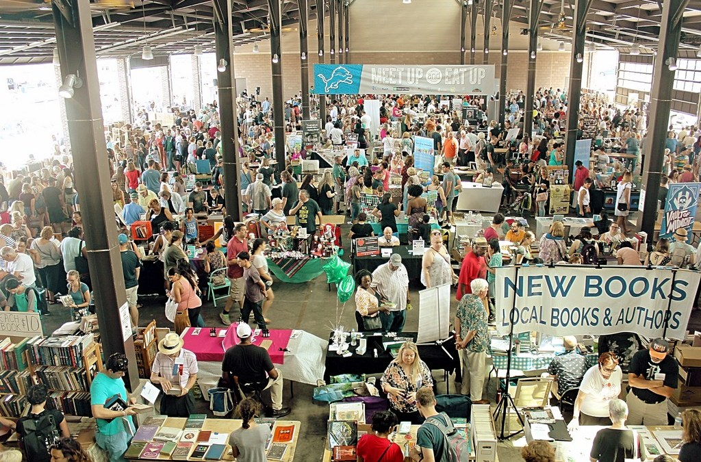 150+ Photos from the 1st annual Detroit Festival of Books @ Eastern Market!