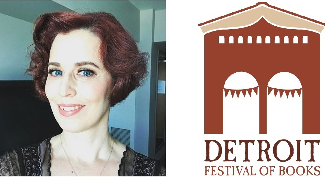 Detroit artist RACHEL QUINLAN Creates Fantastic New Bookfest Logo!