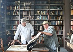 Exclusive: Two Military Research Libraries are Hidden Gems at Detroit's Fort Wayne, a circa 1840's military fort!