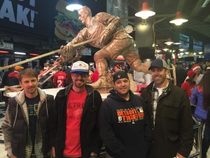 """TDC with """"The Great One,"""" JLA, December 2016"""